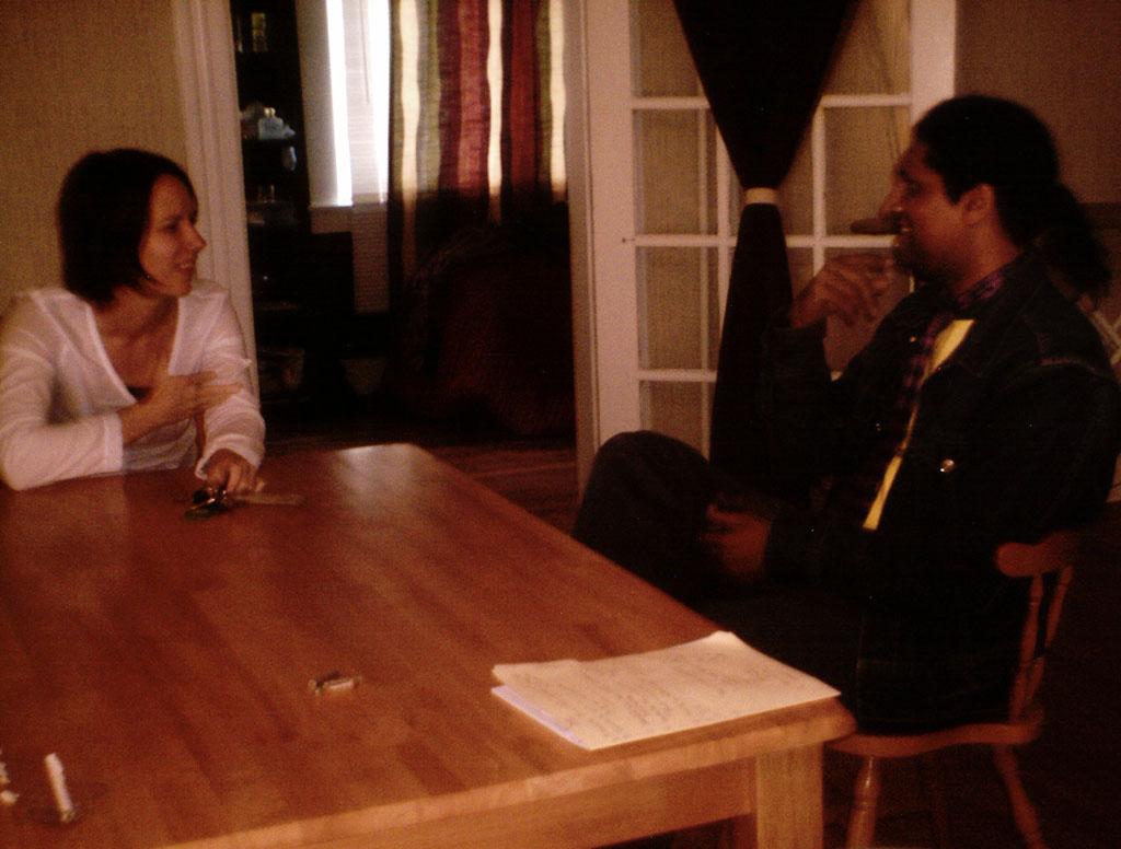 Karl and Susan Signing