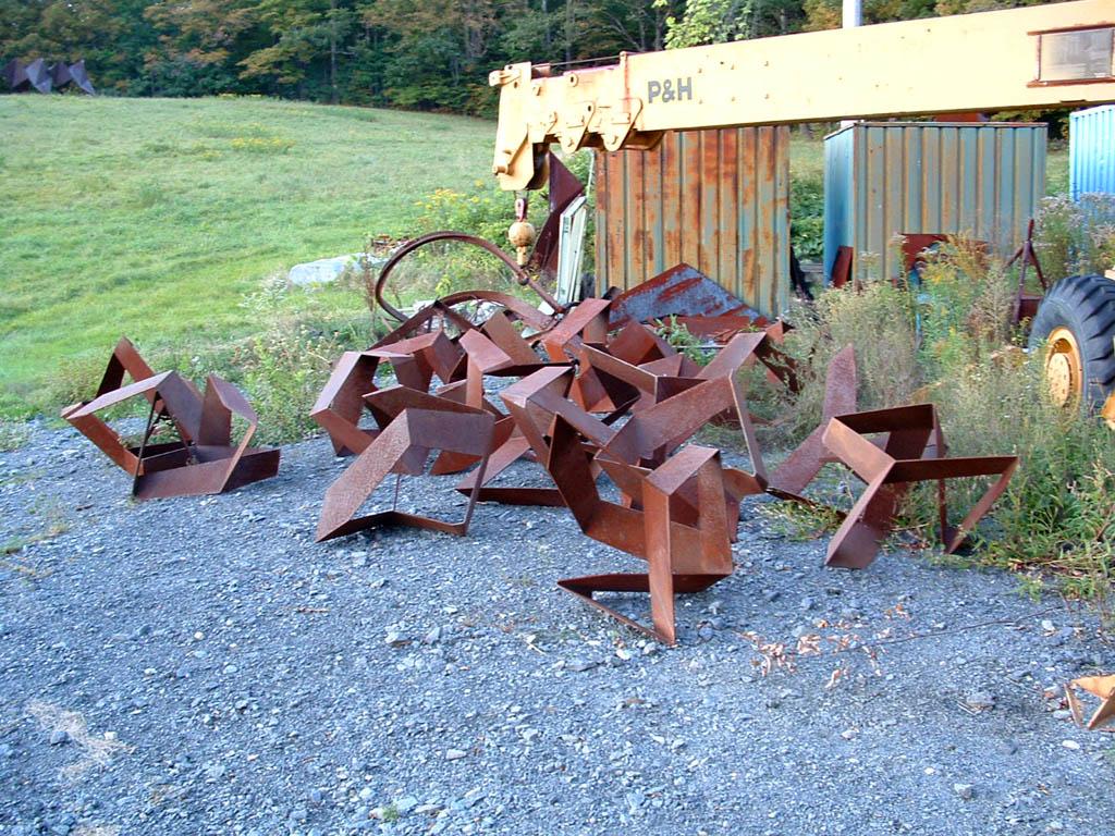 15 Sculptures (c) Chuck Ginnever
